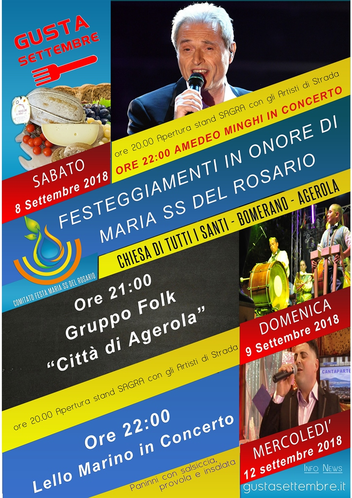 Eventi Agerola Costiera Amalfitana